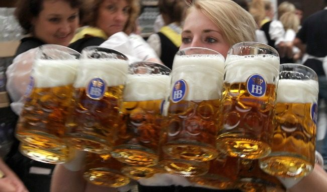 The German beer industry have expressed horror at discovering German beer has been contaminated with Monsanto's Glyphosate