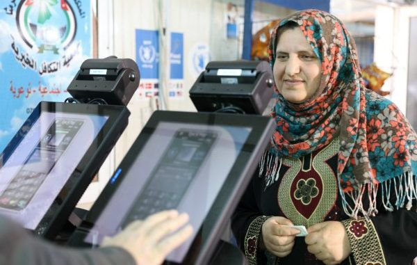 Refugees In Jordan Use Iris Scanners To Purchase Food