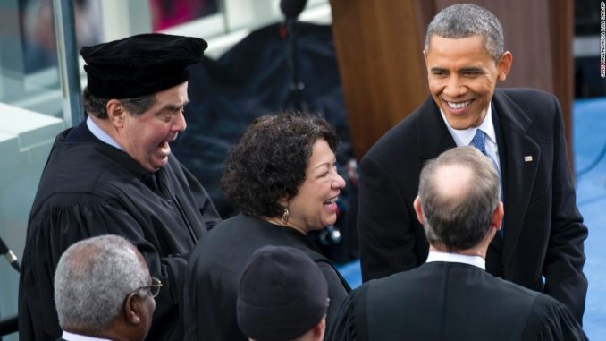US Supreme Justice Scalia held a 'secret' meeting with President Obama just hours before his suspicious death