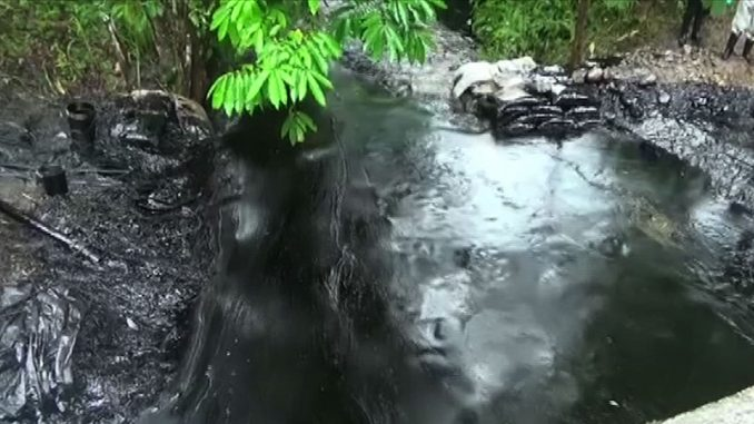 Oil Spills Contaminates 2 Rivers In Peruvian Amazon