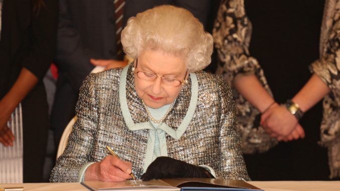Queen Elizabeth vetoes voting change proposals that would allow proportional representation in the UK