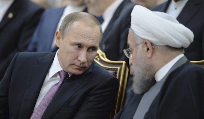 Russia hand delivers 'special message' to Iran