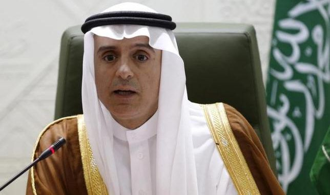 Saudi Foreign Minister Adel al-Jubeir says that removing Assad is essential in defeating ISIS