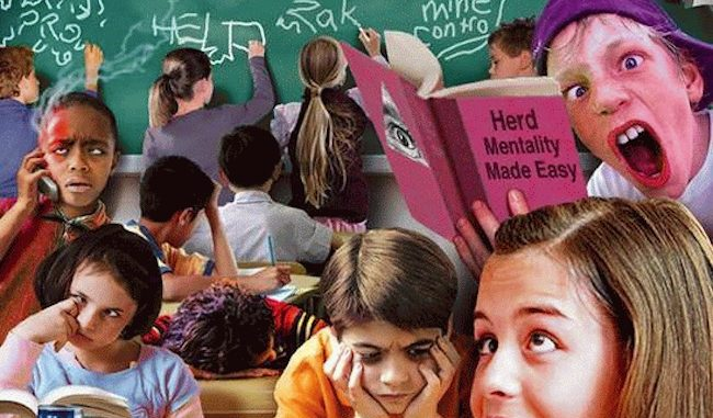 French Professor explains how kids have been brainwashed by the New World Order