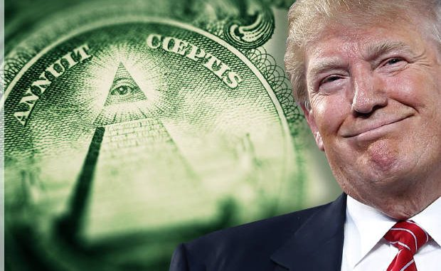 Freemasonic forces led by Donald Trump vs the shadow government