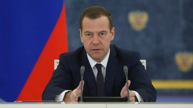 Russian Prime Minister Dmitry Medvedev warns a new world war is coming due to American and Arab interference in Syria