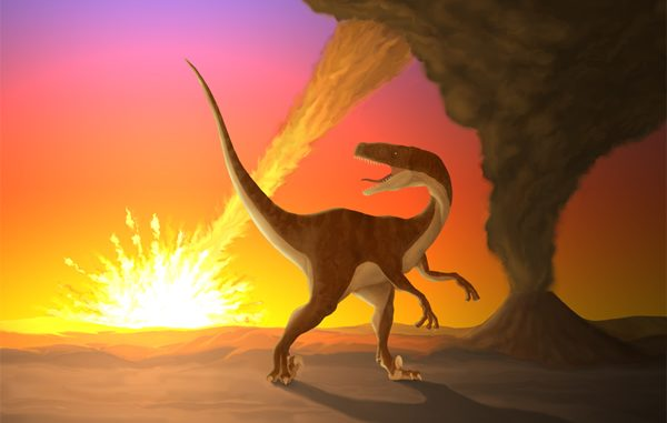 Did A 'Giant Molecular Cloud' Kill Off The Dinosaurs?