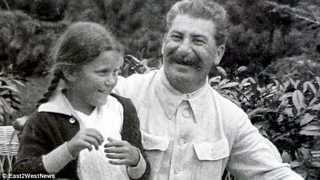 Bond: Her mother Svetlana Alliluyeva was Stalin's only daughter, and youngest child - and was said to be the only person who could make his heart melt. She spent much of her life fleeing his legacy