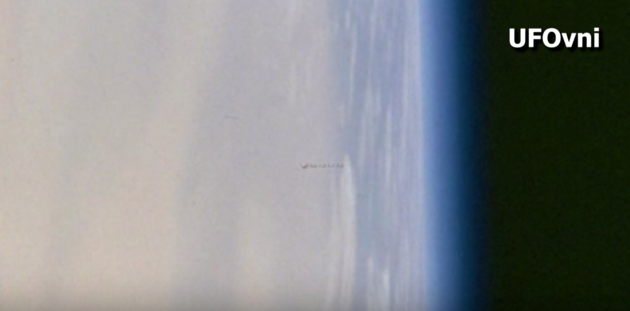 UFO hunters have questions for NASA over photo from ISS