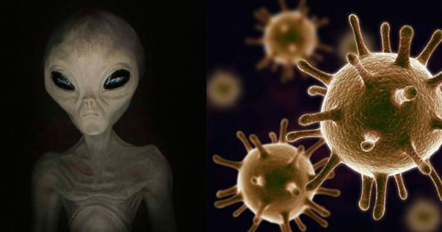 Alien DNA discovered in human genome