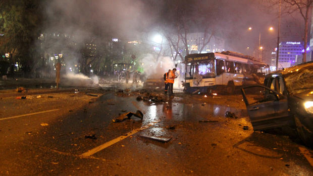 US Embassy Warned Of Ankara Attack Two Before Deadly Explosion