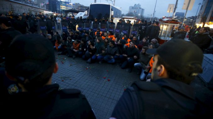 Turkish Police 'Crackdown' On Anti Government Protesters