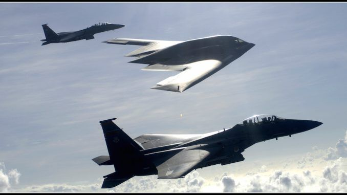 U.S. deploys nuclear capable B-2 bombers to Asia amid North Korea tension