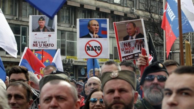 Serbia: Thousands Protest Against NATO Deal In Belgrade