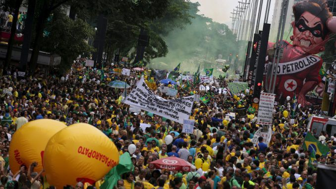 Three million Take Part In Brazil's Anti-Government Protest