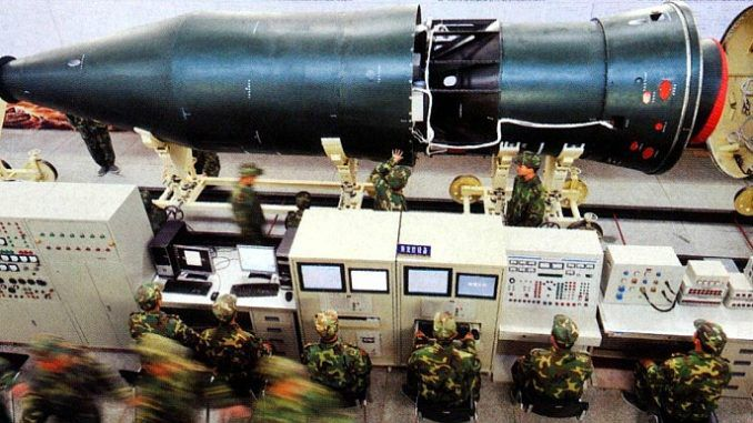 China deploy nuclear-capable ballistic missiles that are able to strike mainland America