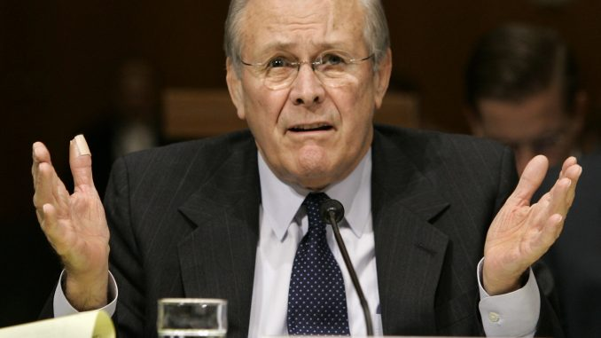 Video: Donald Rumsfeld Claims He Never Heard of WTC 7