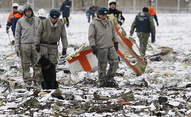 Russia say FlyDubai plane crash was brought down by U.S. missiles