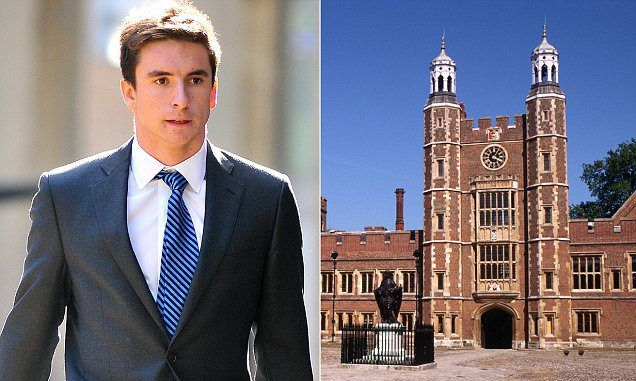 Eton Student Who Made Vile Child Porn Allowed To Use False Name In Court