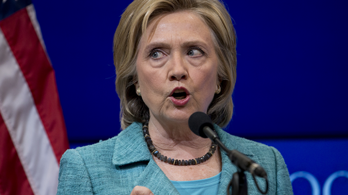 Hillary Clinton Calls For Sanctions Following Iranian Missiles Test