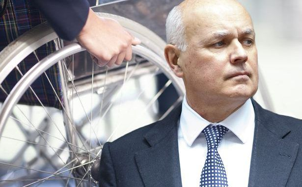 Tories Force Through Plans To Cut Disabled People's Benefits
