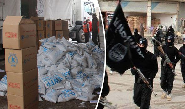 UN Food Aid Lands in ISIS Controlled Territory
