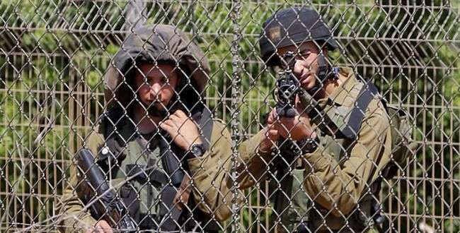 Heavy Deployment Of Israeli Troops Near Lebanese Border