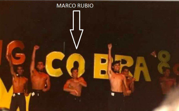 Marco Rubio attends a gay party at the 'coke house'