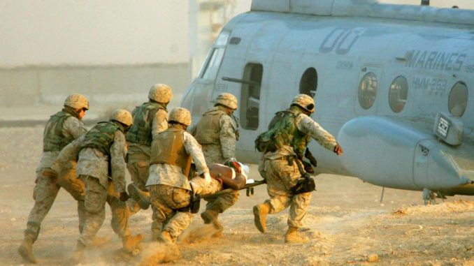 US Deploys More Marines To Iraq After ISIS Rocket Attack