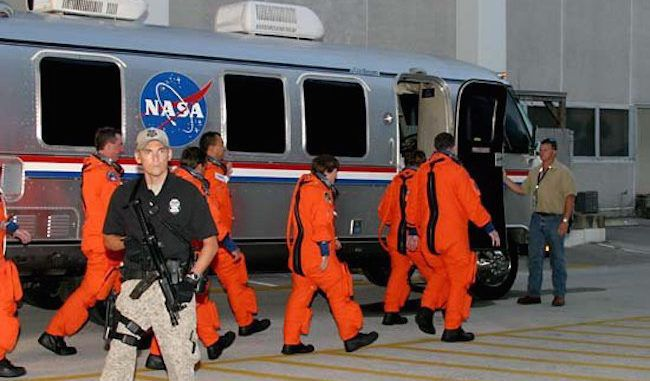 A senior NASA official has been jailed under suspicious circumstances