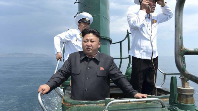 US officials say North Korean submarine missing