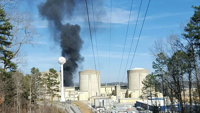 Nuclear Reactor Shut Down In South Carolina After Explosions & Fire