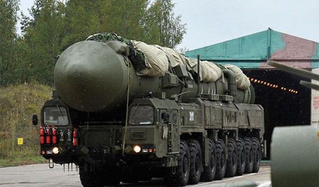 ussia's RS-26 intercontinental ballistic missile systems