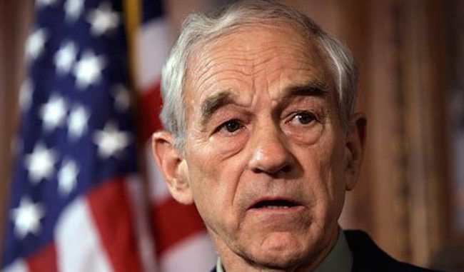 Ron Paul has said that the imminent collapse of the American empire will spur a revolution