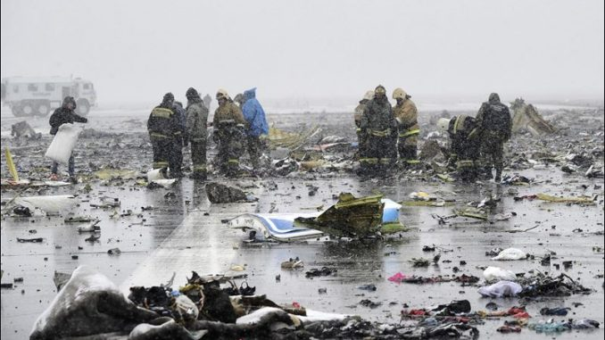 FlyDubai Plane Crashes In Russia Killing All 62 Aboard