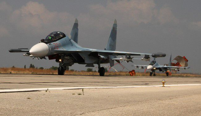 Russian Jets Strike Column Of Terrorists Entering Syria From Turkey
