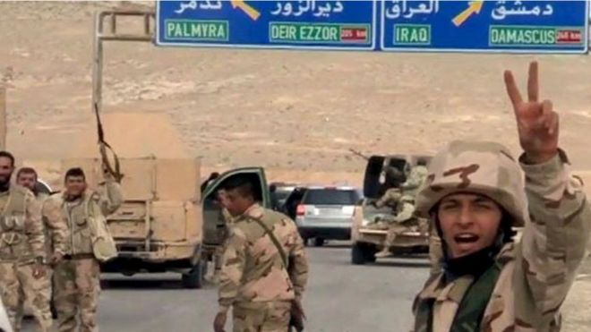 Syrian Government Forces Enter Ancient City Of Palmyra