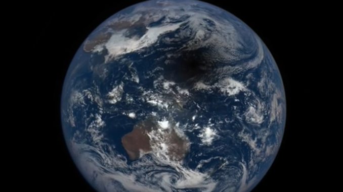 NASA releases video of solar eclipse as seen from space