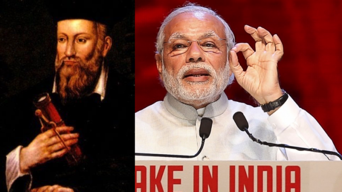Indian Prime Minister and Nostradamus