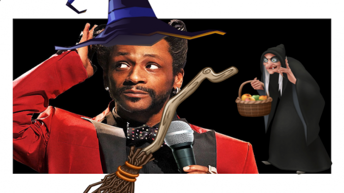 Katt Williams and his witch