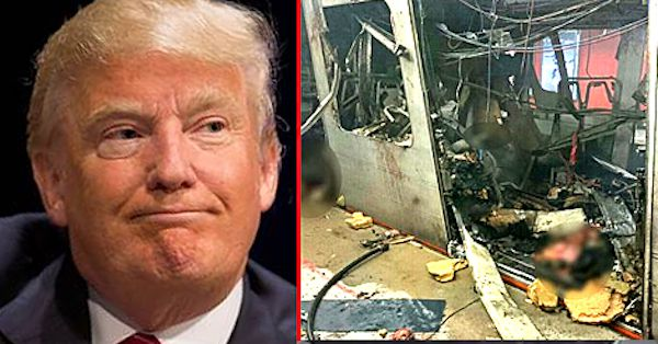 "Did Donald Trump ""predict"" Brussels terror attacks?"