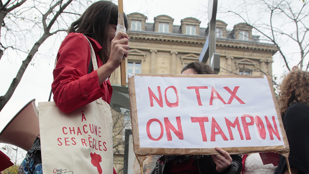 Women Fight 'Tampon Tax' In New York Court