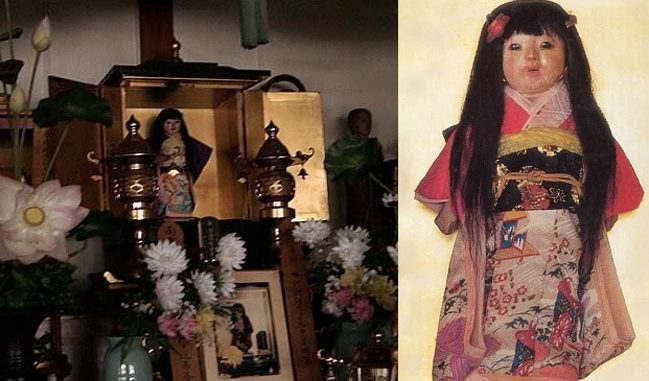 The Japanese Haunted Doll Whose Hair Never Stops Growing News Punch
