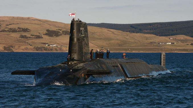 MoD Report Reveals Trident Radiation Blunders