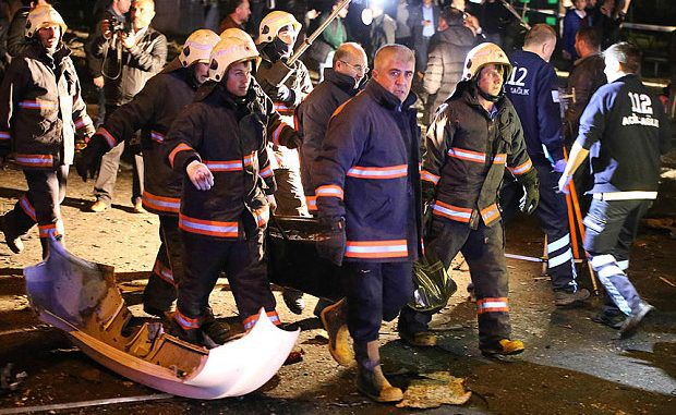 Turkey Blocks Social Media Following Explosion In Ankara