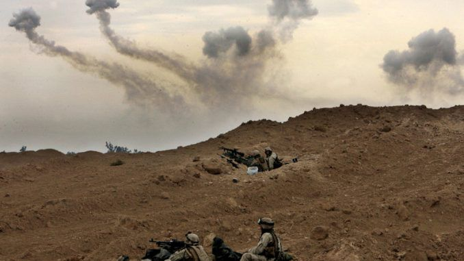 US Marines On The Ground In Iraq To Defend Oil Fields