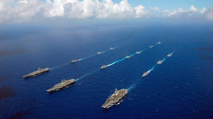 US deploy warships to South China islands