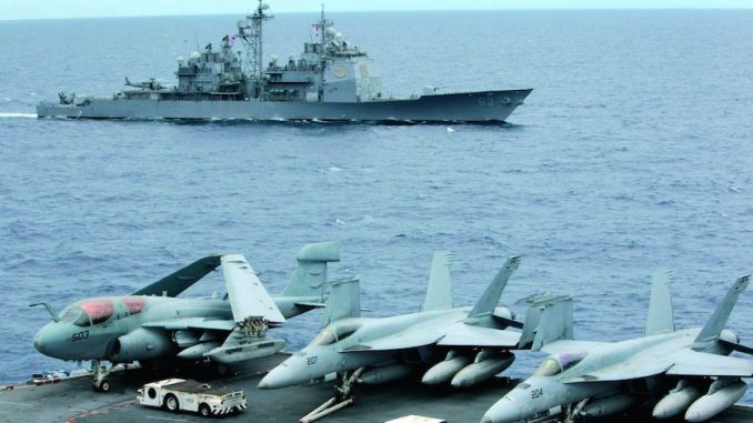 US stockpiles weapons near China as experts predict world war 3 is coming