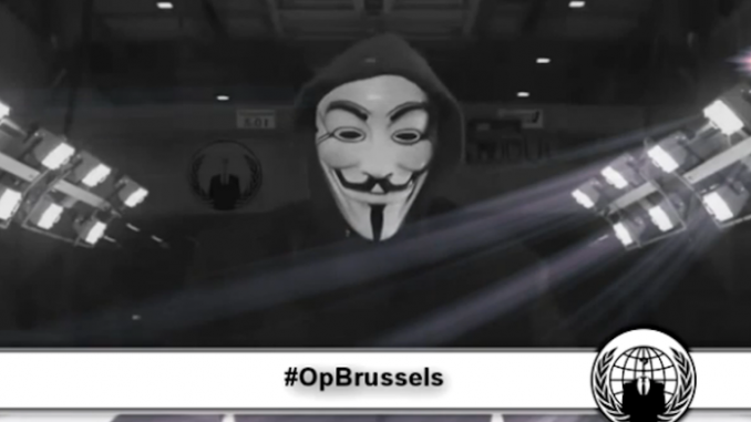 Anonymous threatens ISIS in response to Brussels terror attacks