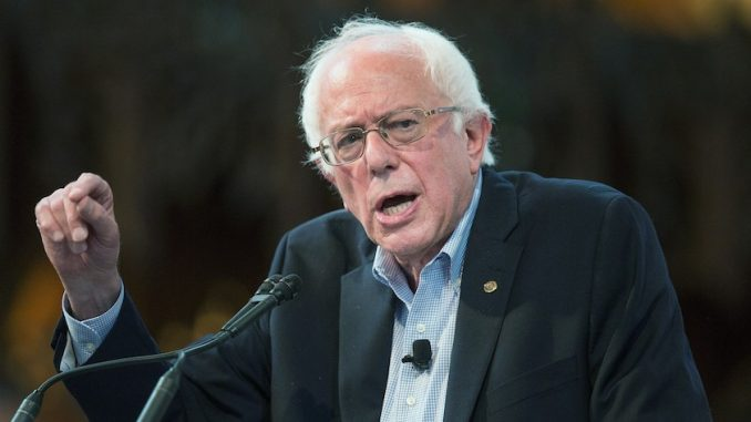 Bernie Sanders Slams Israel's Treatment Of Palestinians